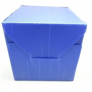 Foldable Logistic Plastic Storage Box With Lid
