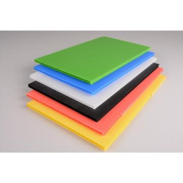 Polypropylene Pp Plastic Hollow Fluted Corrugated Sheets