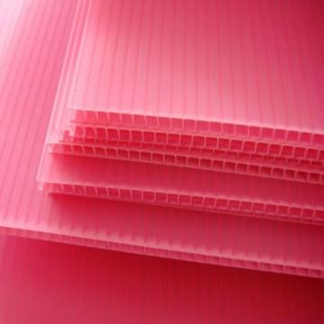 Clear Plastic Corrugated PP Hollow Sheet