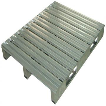Single Sides Warehouse Stacking Use Plastic Pallet For Flour Bags