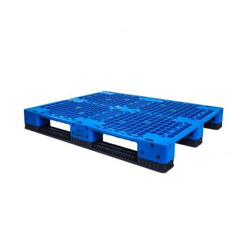 Vented Open Double Deck Plastic Pallet For Flour Bags
