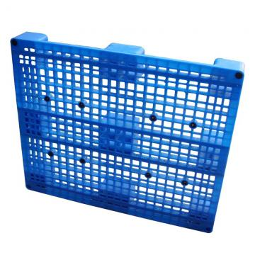 Light Duty HDPE Three Runners Plastic Pallet For Textile