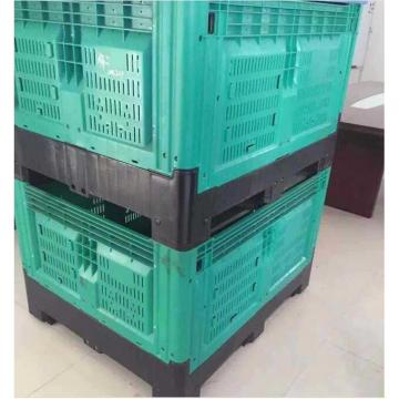 HDPE High Capacity Large Foldable Plastic Pallet Box