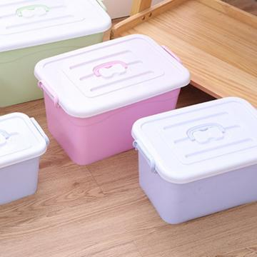 HDPE Large Stackable Food Storage Box Container