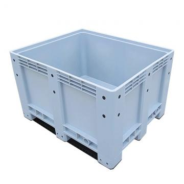 HDPE Folding Large Plastic Pallet Box Bin For Fruit And Vegetable
