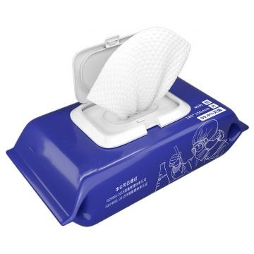 Low Price FDA Ce 80PCS. 50PCS 75% Anti Bacterial Wet Wipes Alcohol Antibacterial