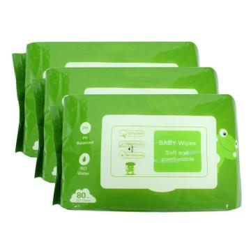 Disposable Bulk Baby Wet Tissue Wipes No Alcohol