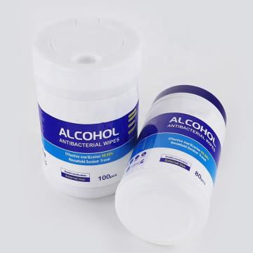 70% Isopropyl Alcohol Wipes in Canister