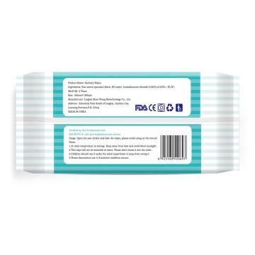 Wholesales Disposable hospital surface alcohol disinfectant wipes/tissues for medical in barrel