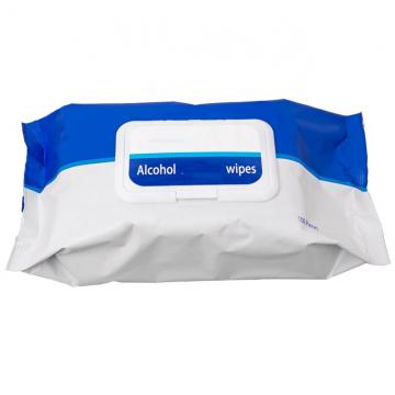 Toilet Kitchen Electronics Hand Disposable Anti Bacterial 75% Alcohol Sanitizing Wet Wipes Cleaning EPA Registered