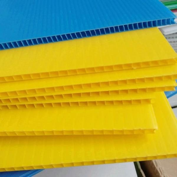 High Quality Cheap Price PP Hollow Board Corrugated Plastic Sheets #3 image